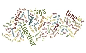 First Thoughts word cloud jpeg