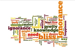 Is ignorance bliss word cloud 3 jpeg